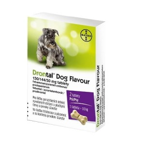 Drontal Dog Flavour 1x2 tabletka