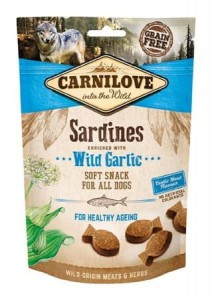 CARNILOVE Snack Dog Soft Sardines Wild Garlic 200g