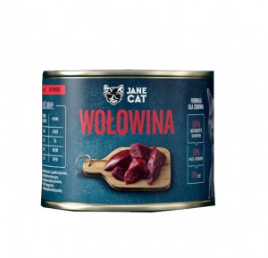 Jane Cat Adult Wołowina 200g