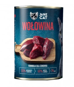 Jane Cat Adult Wołowina 400g