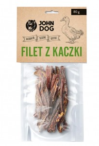 JOHN DOG Filet z kaczki 80g