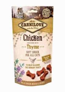 CARNILOVE Cat Snack Soft Chicken&Thyme 50g