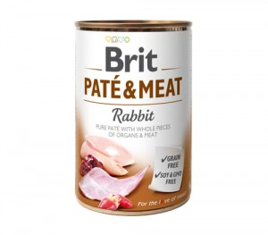BRIT Pate & Meat Rabbit Królik 800g