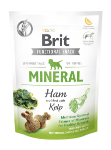 Brit Care Dog Snack Mineral Ham Puppy 150g