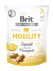 Brit Care Dog Snack Mobility Squid 150g