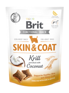 Brit Care Dog Snack Skin&Coat Krill 150g
