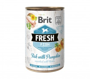 BRIT Fresh Fish Pumpkin 6x400g