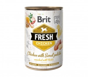 BRIT Fresh Chicken Potato 6x400g