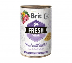 BRIT Fresh Veal Millet 6x400g