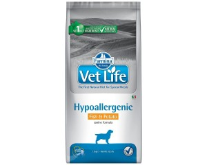 Farmina VetLife Dog Hypoallergenic Fish Potato 12kg