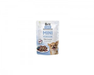 Brit Care Mini Pouch Venison 3x85g