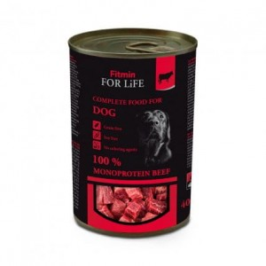 Fitmin For Life Dog Monoprotein Beef 6x400g