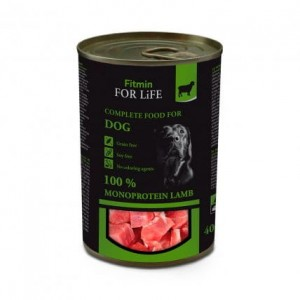 Fitmin For Life Dog Monoprotein Lamb 6x400g