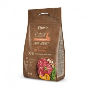 Fitmin dog Purity GF Adult Mini Beef 4kg