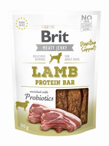 Brit Jerky Snack Protein Bar Lamb 80g