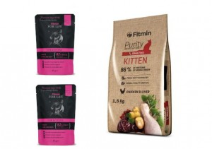 Fitmin cat Purity Kitten 1,5 kg + GRATIS