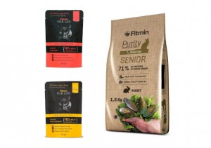 Fitmin cat Purity Senior 1,5kg + GRATIS