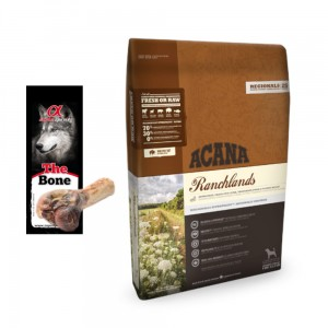 Acana Regionals Ranchlands Dog 6kg + GRATIS