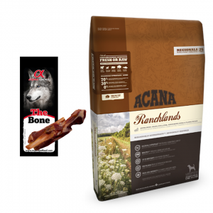 Acana Regionals Ranchlands Dog 2kg + GRATIS