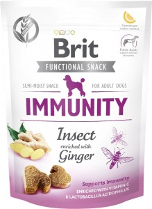 Brit Care Dog Snack Immunity Insect Ginger 150g