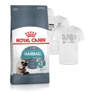 Royal Canin Feline Hairball  Care 10kg + KOSZULKA