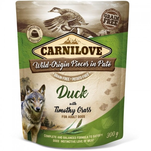 Carnilove Dog Pouch Duck 300g